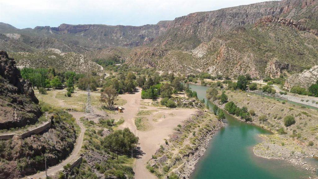 Vista del Río Atuel