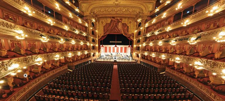 Foto del interior teatro Colón