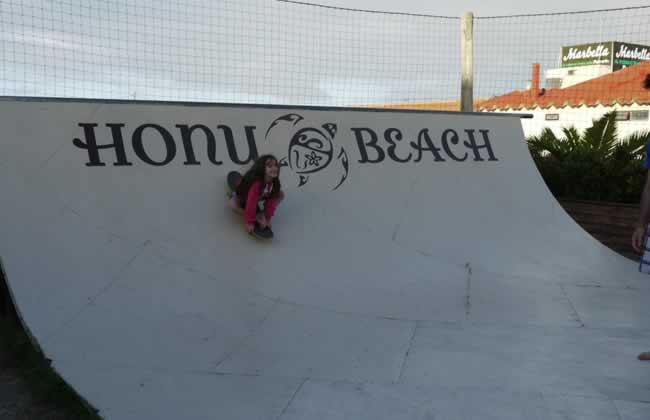 Rampa vieja Honu Beach
