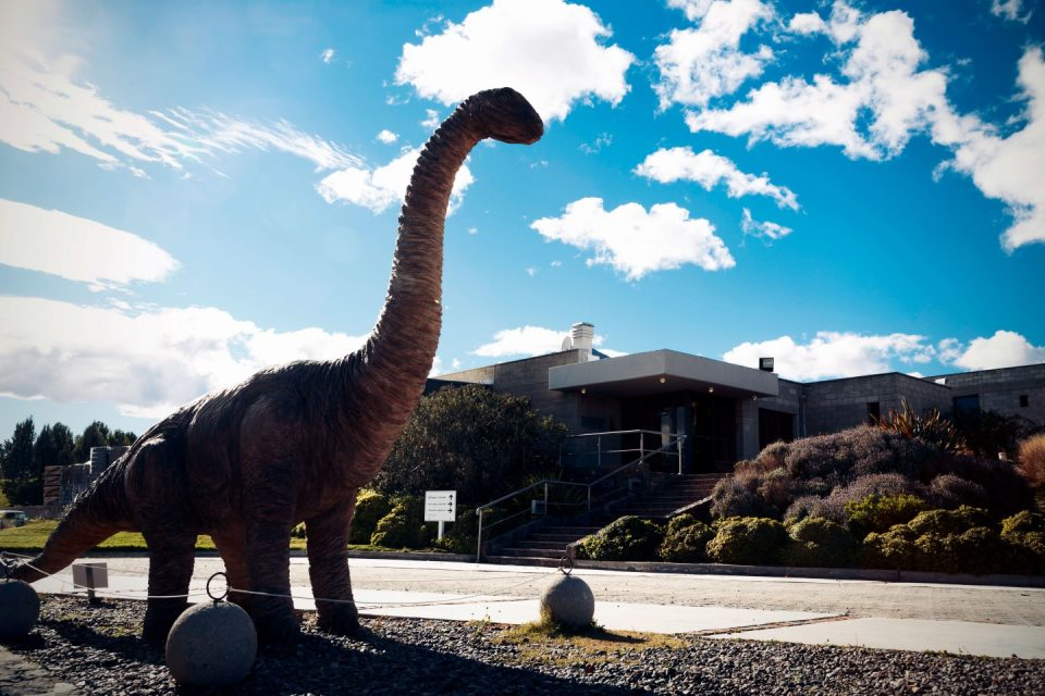 Foto de dinosaurio