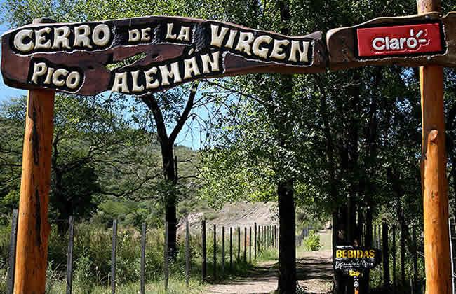 Ingreso a Cerro La Virgen