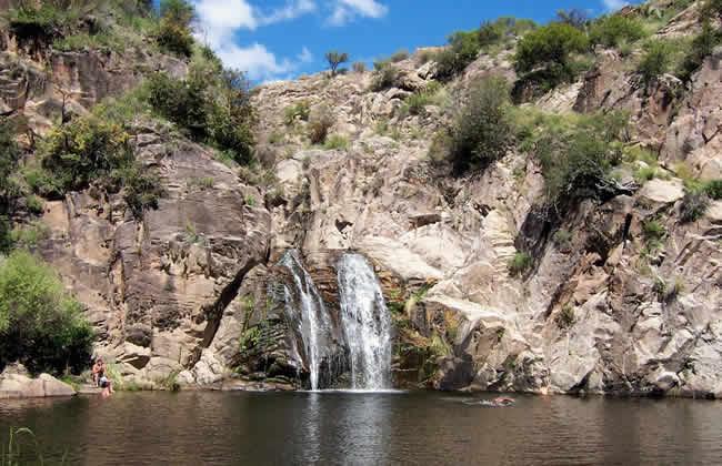 Cascada Toro Muerto Córdoba