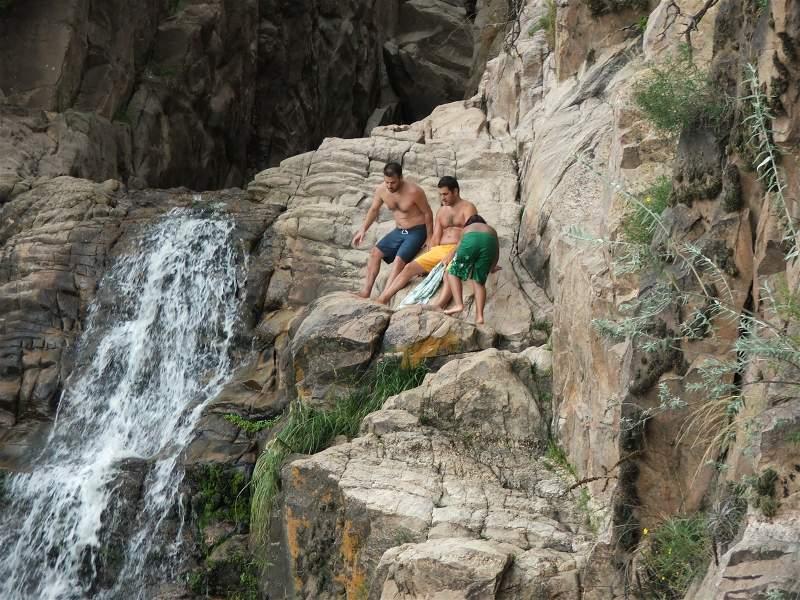 Salto de la Cascada Toro Muerto Mina Clavero
