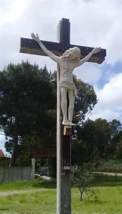 Cristo en Sauce Grande Monte Hermoso