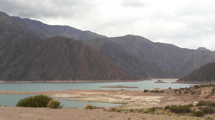 Lugares Mendoza Embalse Potrerillos