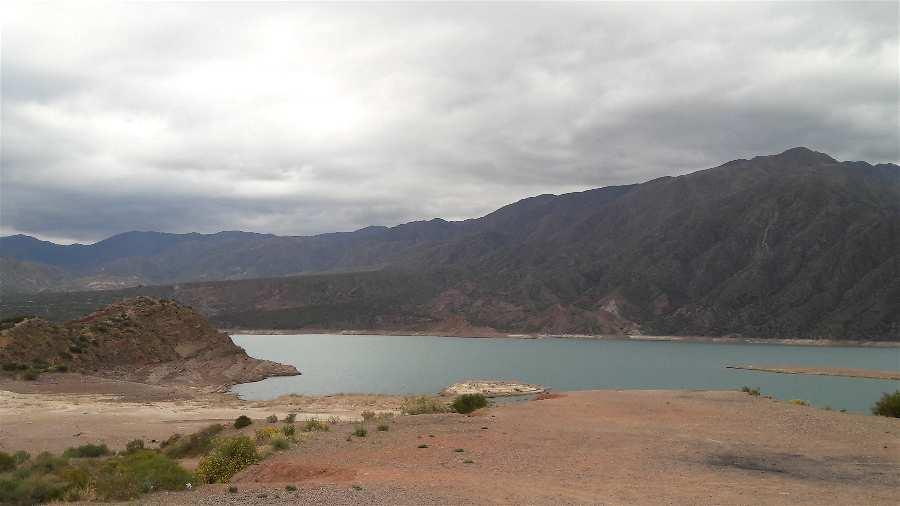 Lugares Mendoza Embalse Potrerillos Argentina