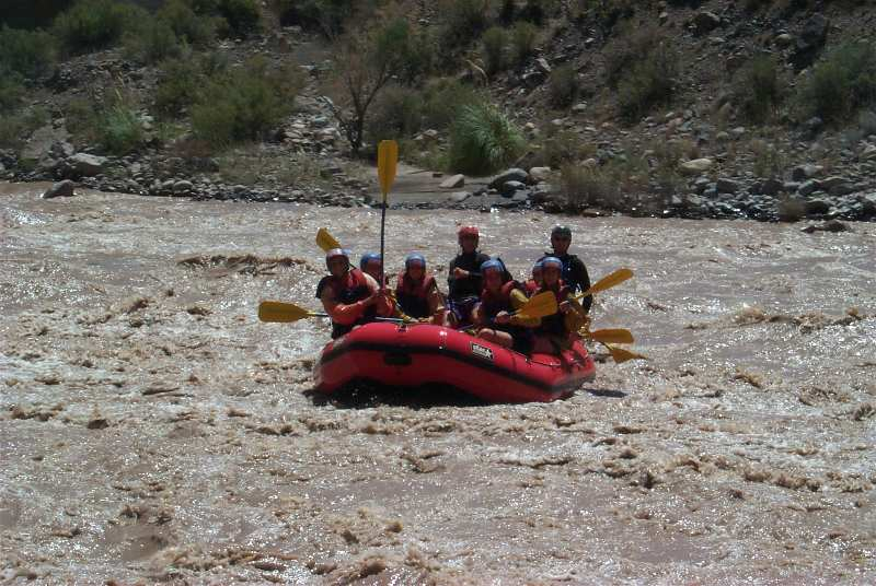 Rafting Río Mendoza