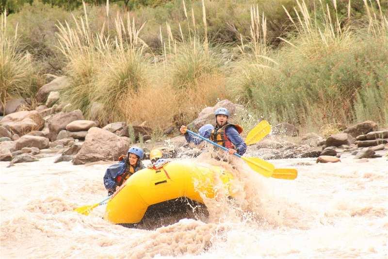 Rafting Río Mendoza Actividades recreativas