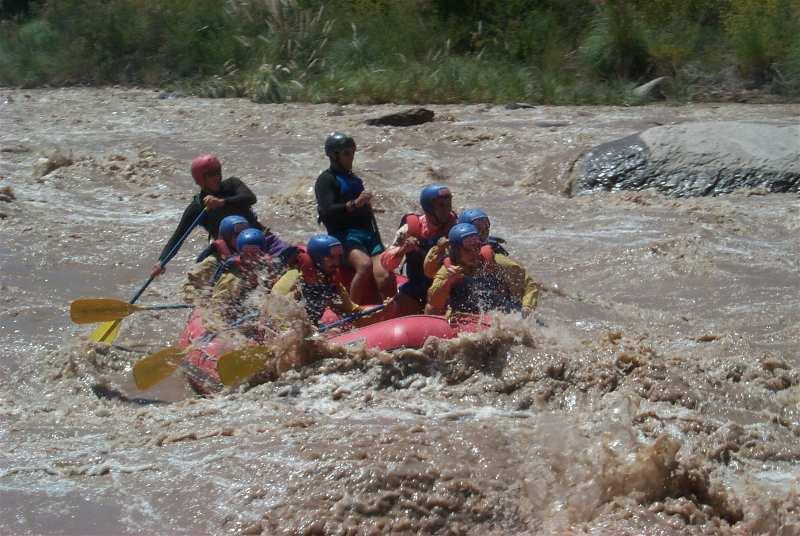 Rafting Río Mendoza Argentina