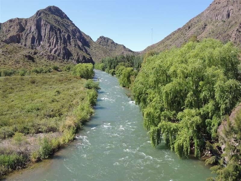 Río Atuel San Rafael Mendoza