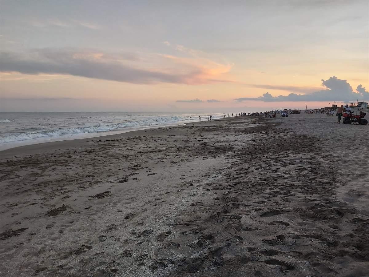 Atardecer en Costa Esmeralda