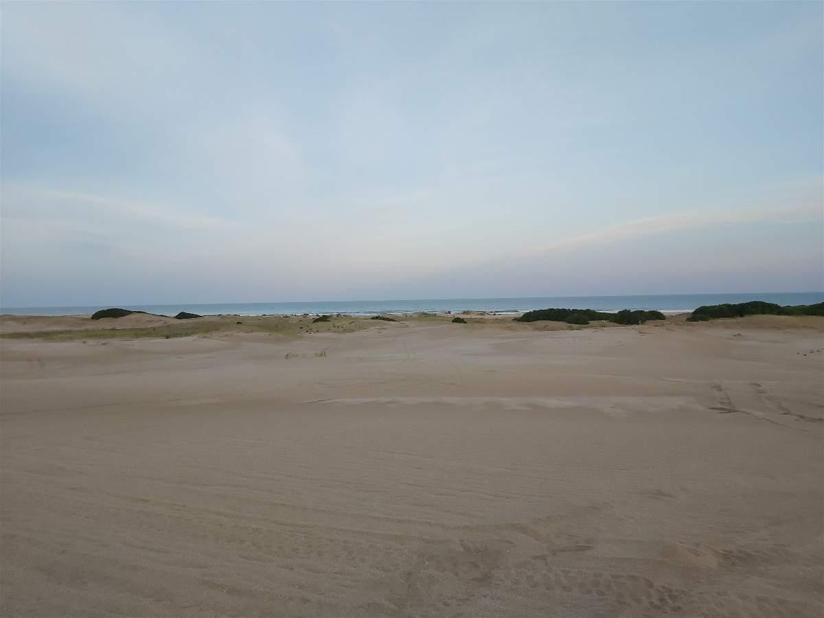 Vista del Mar desde los medanos en Costa Esmeralda