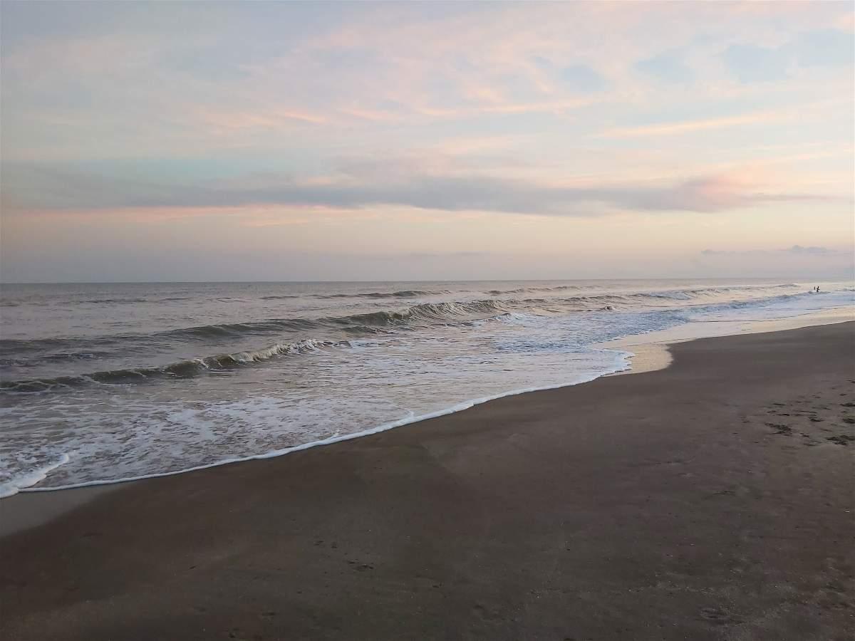 Mar y playa en Costa Esmeralda