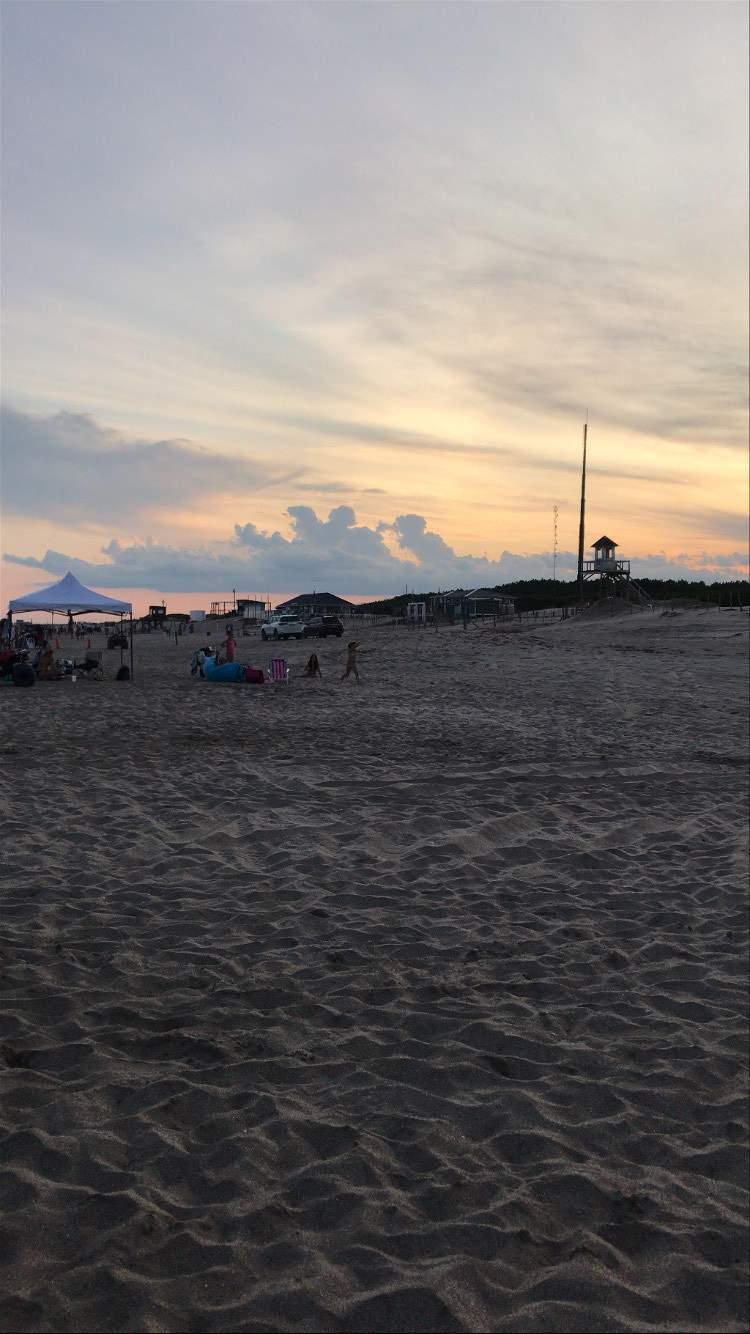 Atardecer en la playas de Costa Esmeralda