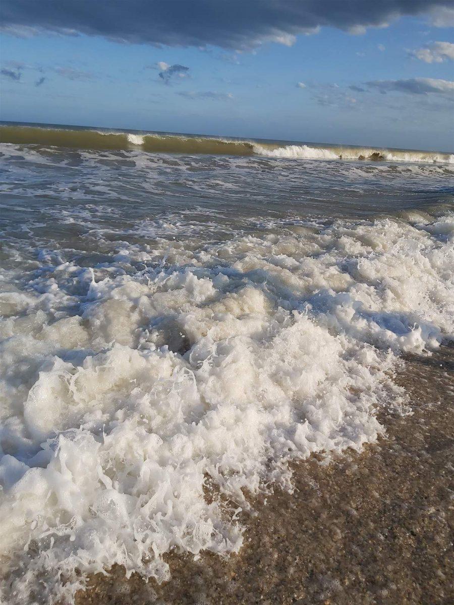 Mar revuelto en Costa Esmeralda