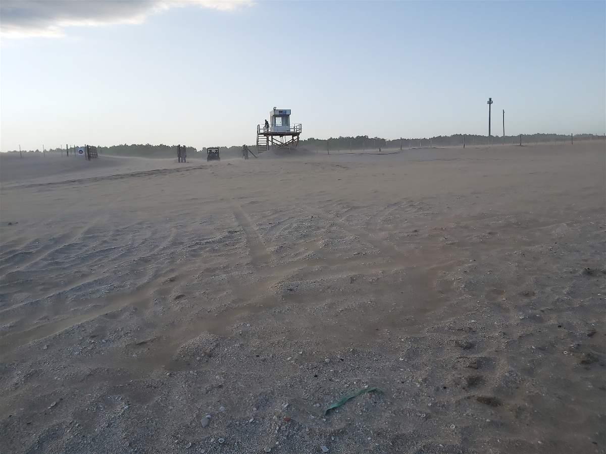 Día de playa en costa esmeralda